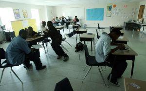 public school classroom