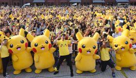 JAPAN-LIFESTYLE-ENTERTAINMENT-POKEMON