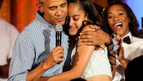 Malia Obama Celebrates 18th Birthday At White House July Fourth Party
