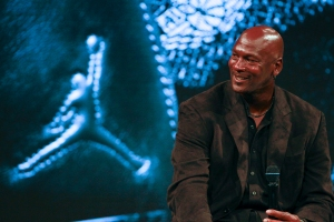 Michael Jordan Celebrates the 30th Anniversary of Air Jordan At Palais de Tokyo In Paris