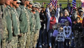 Army National Guard Troops Come Home Early