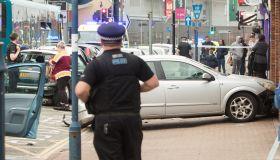 Bus crashes into multiple cars on Hythe Street, Dartford