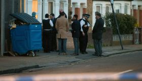 Crime scene behind Northolt Road South Harrow