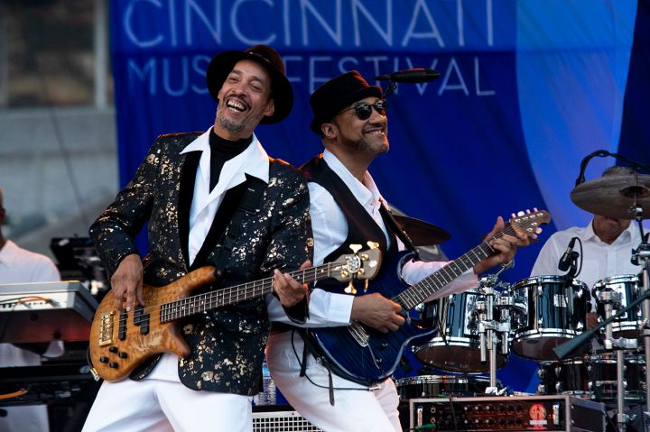 Ohio Players at the 2019 Cincinnati Music Festival
