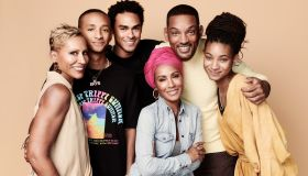 Will Smith, Jada Pinkett Smith, Jaden Smith, Trey Smith , Adrienne Banfield-Norris at Red Table Talk
