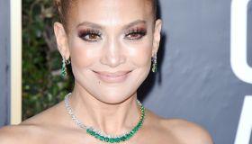 Jennifer Lopez attends the 77th Annual Golden Globe Awards at The Beverly Hilton Hotel on January 05, 2020 in Beverly Hills, California\n© Jill Johnson/jpistudios.com