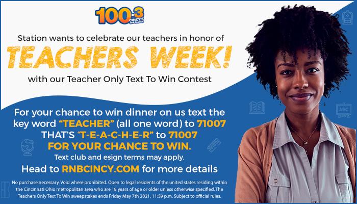 Teachers Week Contest WOSL