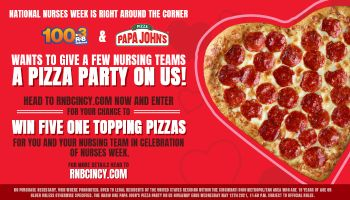 Nurses Week- Pizza Party On Us Contest