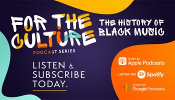 Black Music Month 2021 Feature Graphic