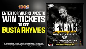 BUSTA RHYMES Register To Win Sweepstakes WOSL